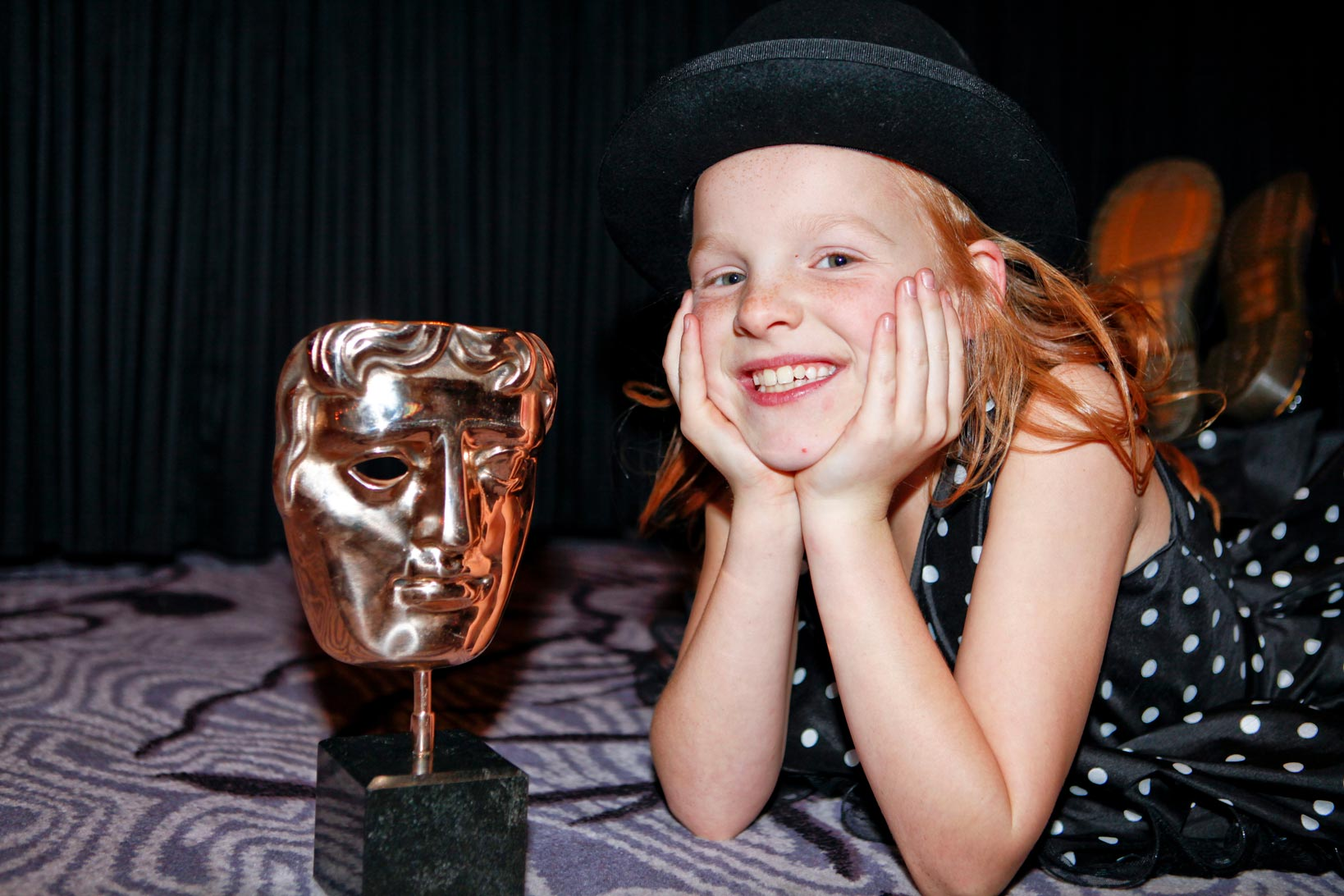 Harley becomes the youngest ever BAFTA winner